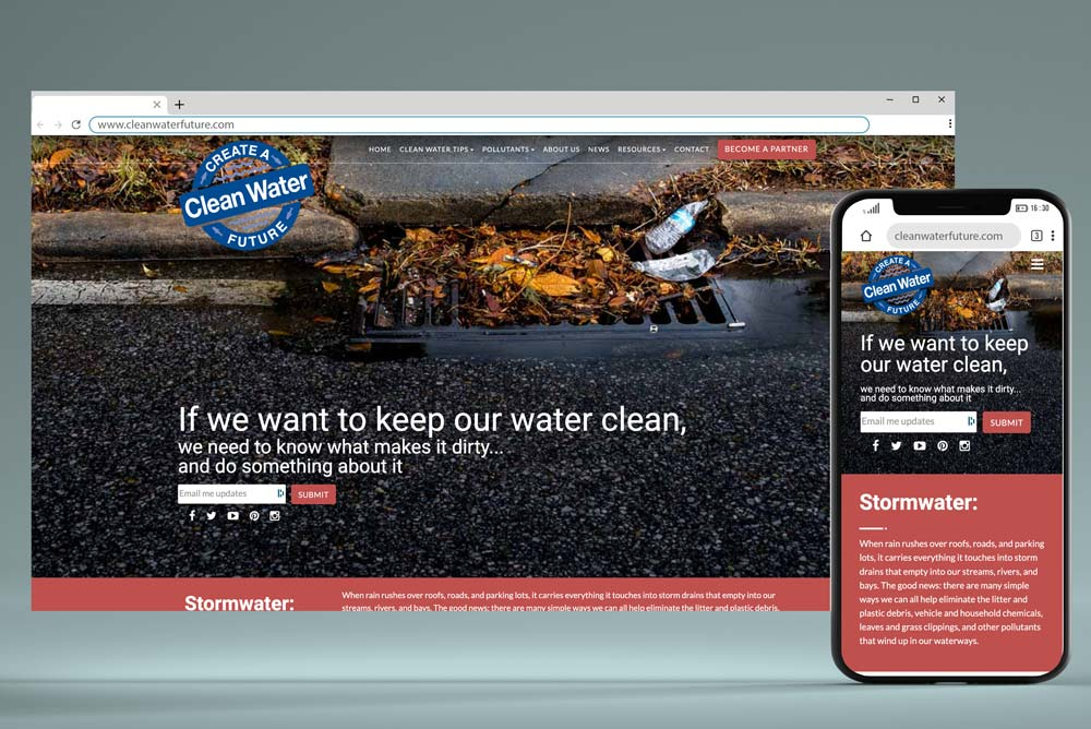 Clean Water Future Website