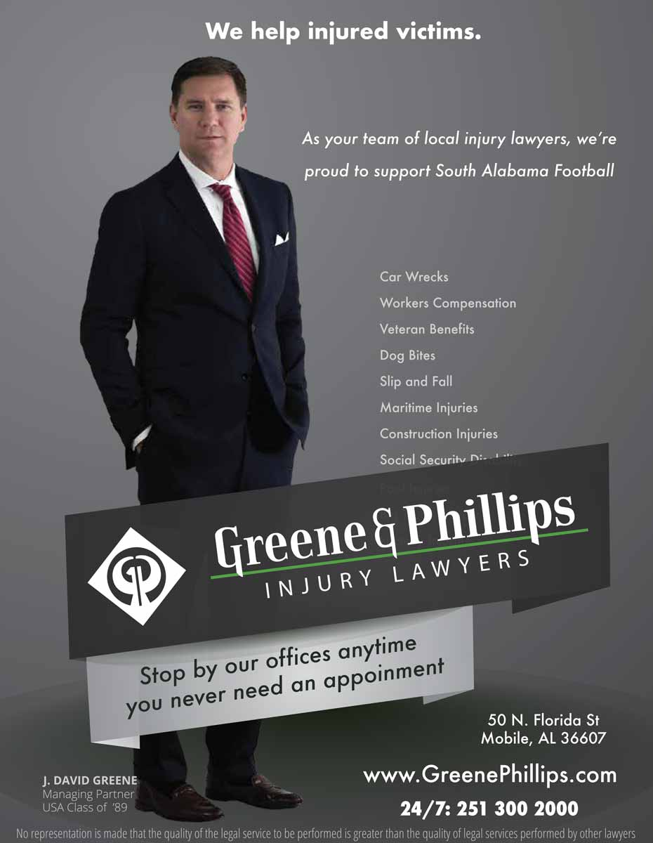 Greene & Phillips Full Page Ad